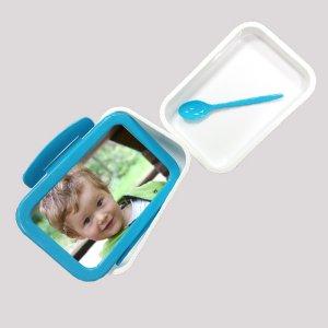 קופסת אוכל עם כפית - ליצ'י מתנות