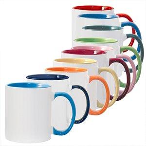 הדפסה על ספל בעיצוב אישי מגוון צבעים