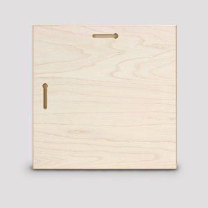 בלוק עץ טבעי 20X20 ס''מ לתליה על הקיר